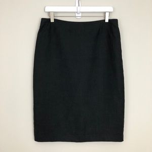 Ralph Lauren Collection Purple Label Linen Skirt